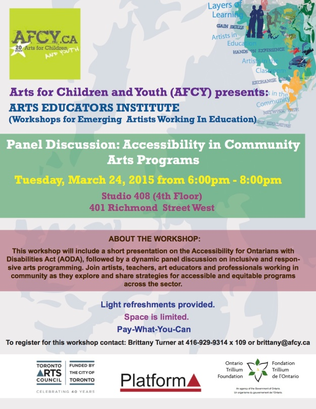 Acessibility in Community Arts copy